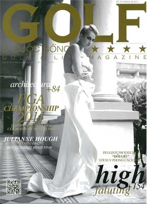 2011 08 GOLF&LIFE 『golf&yoga』