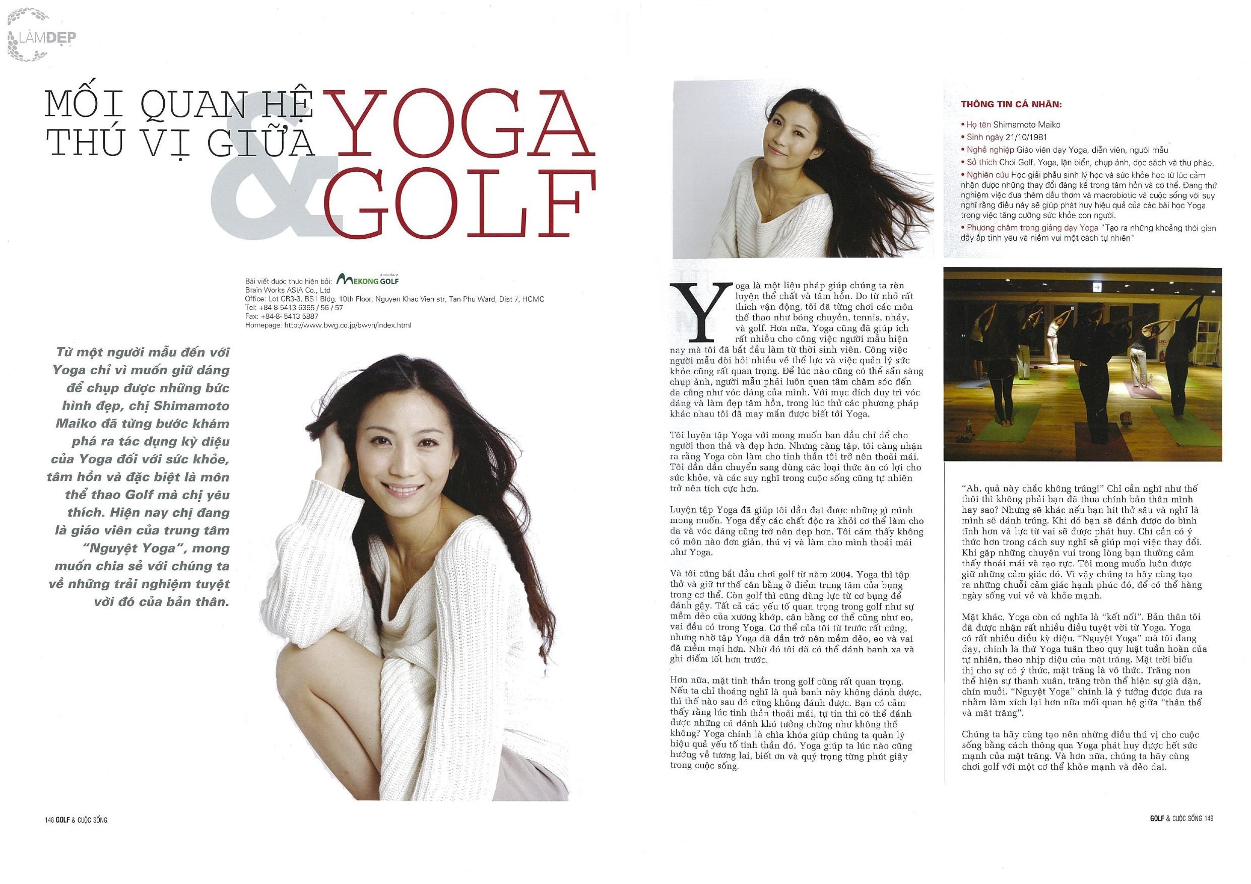 2011 05 Golf&Life vietnam magazine