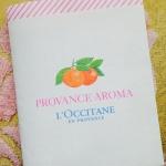 L'OCCITANE 2014年秋のパンフレット